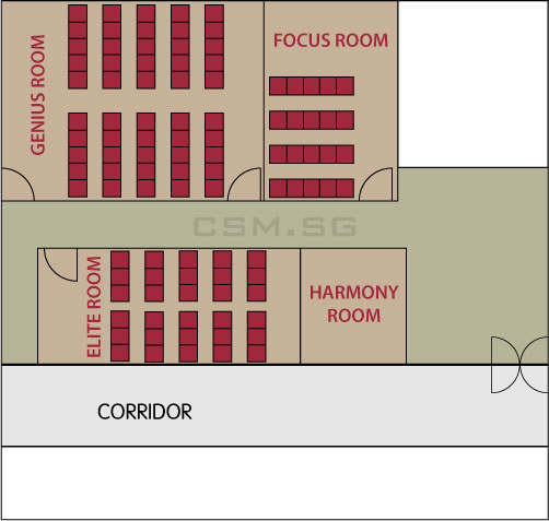 Training Room Venue Floor Plan Alternative Rooms